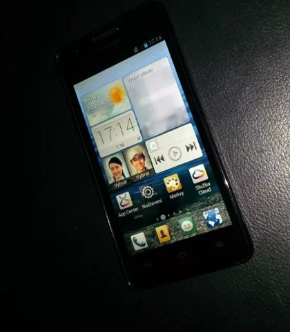 Huawei Ascend G510, frontal