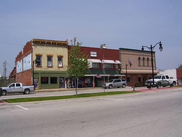 Griggsville center