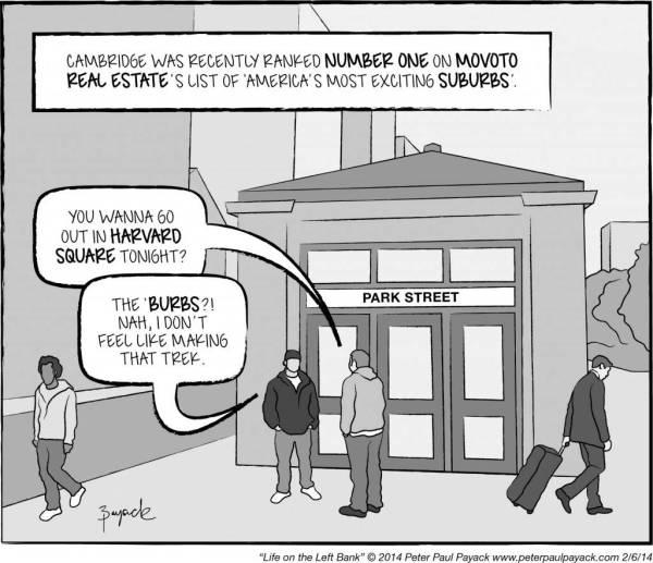 Exciting Suburb Comic