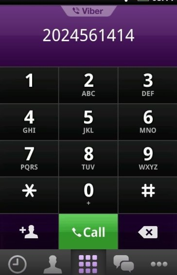 Viber Free Calls Messages برنامج Viber : Free Calls & Messages للاتصالات المجانيه لاجهزة HTC