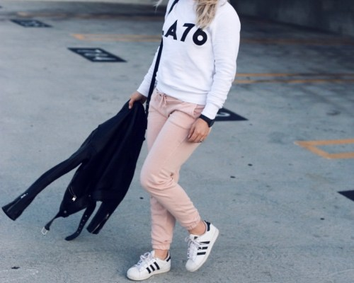 how to wear athleisure by Christine Bennett of moxiefashionblog.com