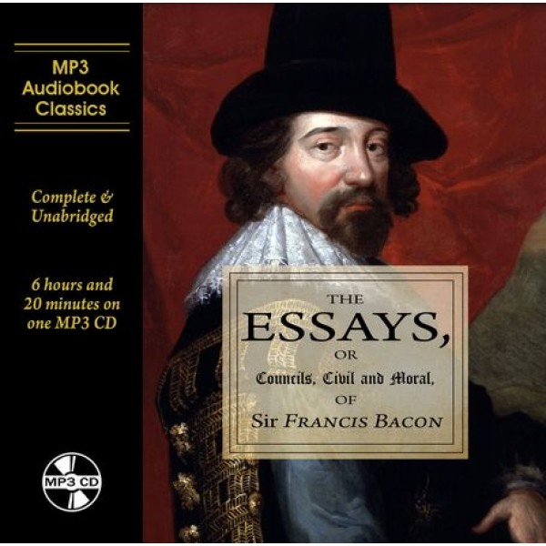 The Essays of Francis Bacon MP3 CD Audiobook in DVD case