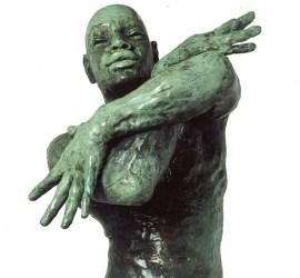 El Bembón nude male bronze
