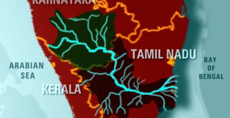 Map-cauvery river