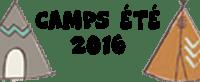 Camps été 2016