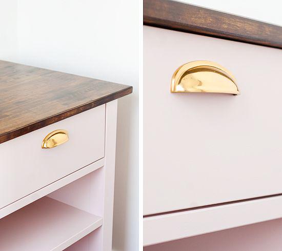diy ikea: personalizar muebles ikea con tiradores
