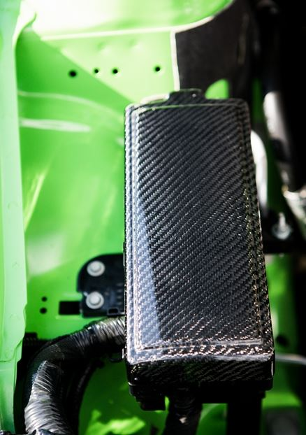 2010-2014 Mustang Carbon Fiber LG89 Fuse Box Cover (V6/GT/GT500