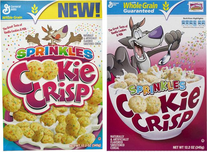 Cookie Crisp Sprinkles Cereal Mrbreakfastcom