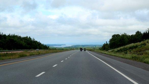 Driving Through Nova Scotia