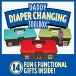 Daddy Diaper Changing Toolbox from Fun Stuff 4 Babies