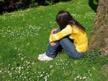 childhood depression increases health risks in teens