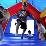 child safety - watch out for bouncy houses