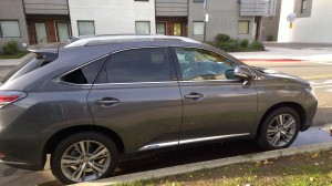 lexus rx450h exterior