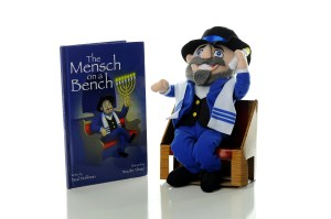 mensch on a bench