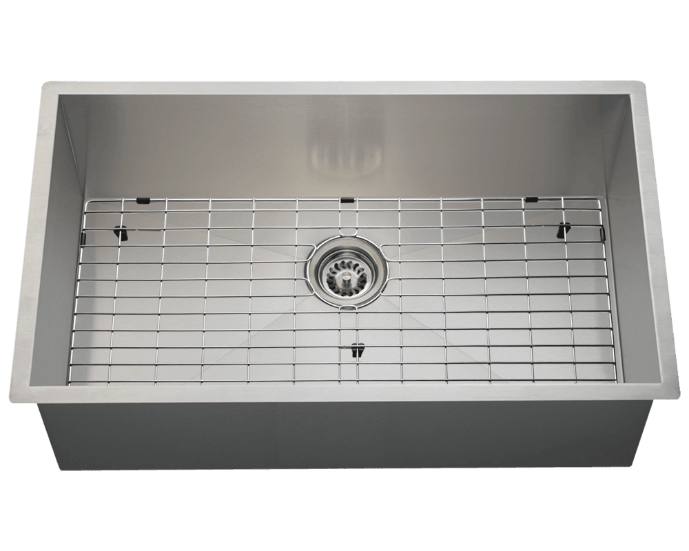 3322s Industrial Rectangular Stainless Steel Sink