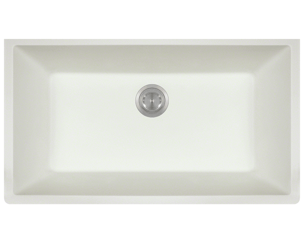 white large single bowl undermount trugranite kitchen sink white kitchen sink
