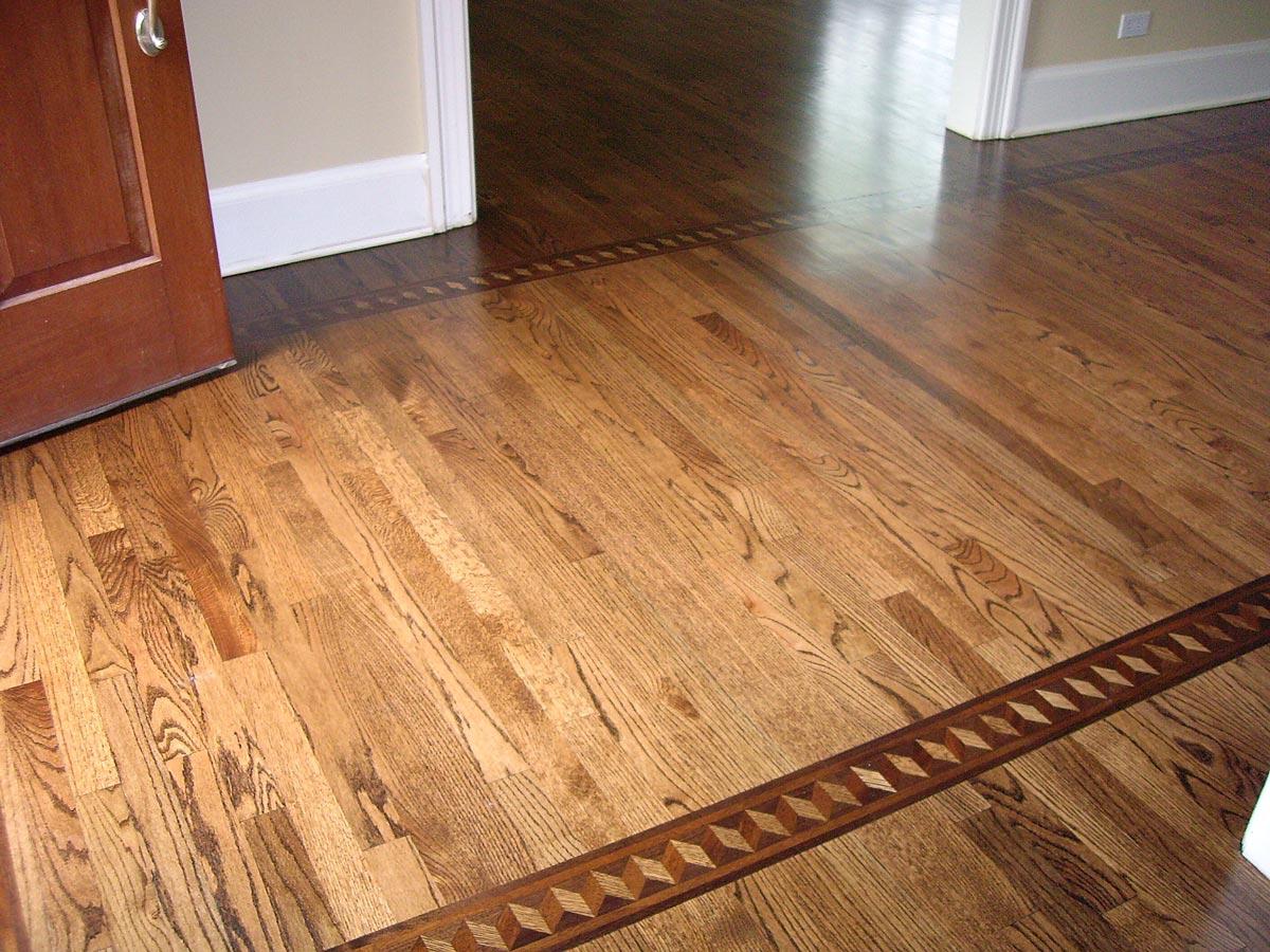 Wood Floor Borders Medallions Mr Floor Companies
