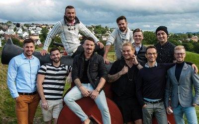 Mr Gay Europe in Trondheim