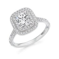 Small Crop Of Radiant Cut Diamond