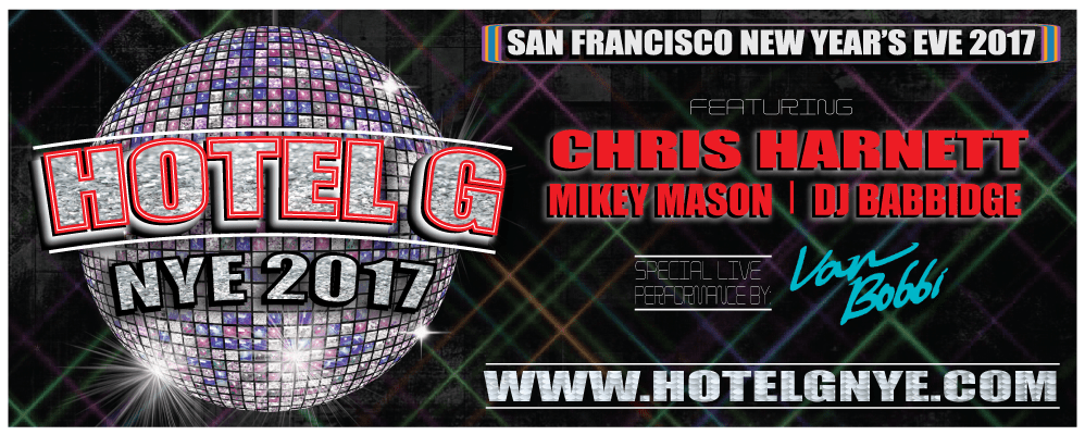 DISCO San Francisco: New Years Eve at Hotel G