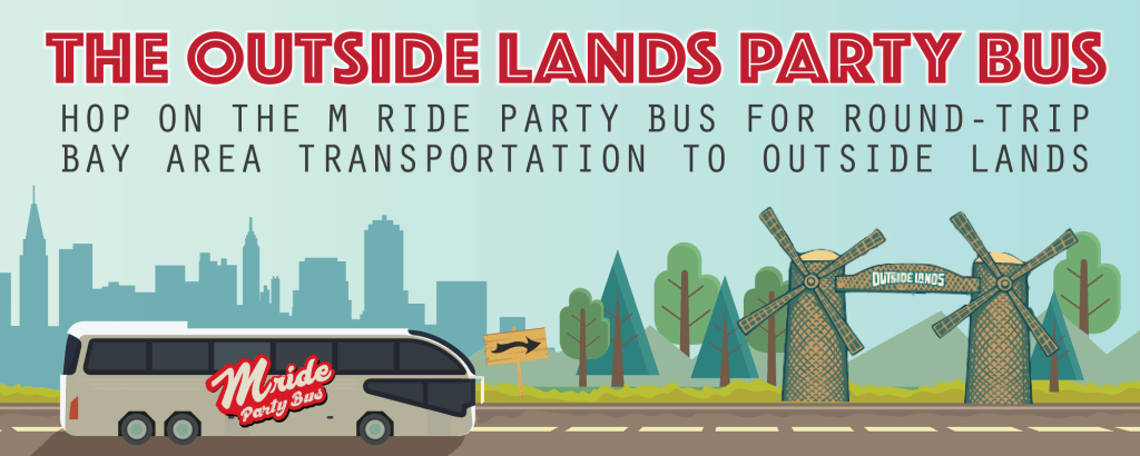 Outside Lands Party Bus