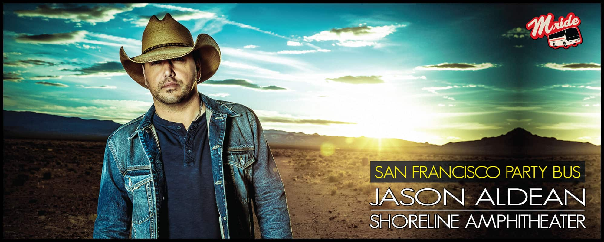Jason Aldean Party Bus (Shoreline Amphitheater)