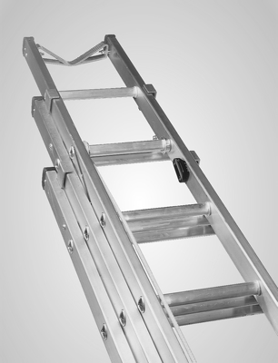 Triple 25m Class 1 Bt Alloy Ladder Ladders And Towers