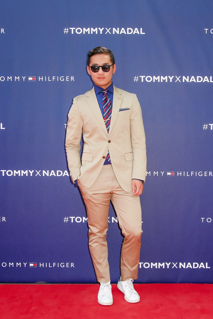 Tommy Hilfiger Rafael Nadal Lance Chung Red Carpet