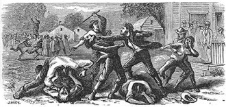 Gallatin Election Day 1838