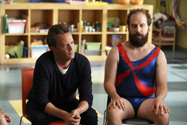 Go On, Matthew Perry, left, and Brett Gelman