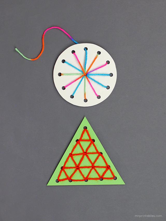 christmas card templates for kids