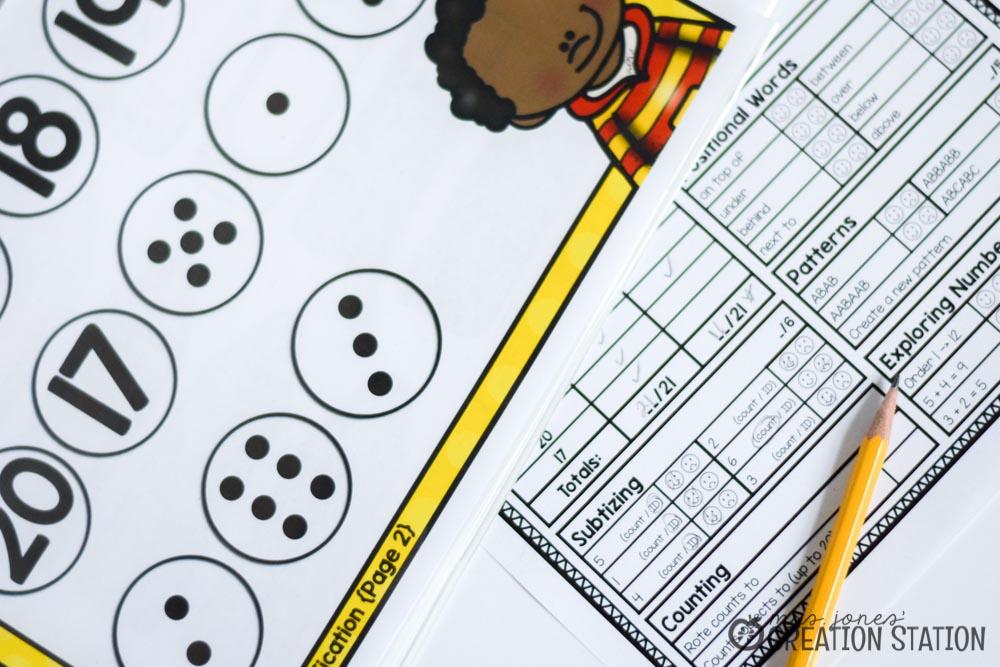 Beginning Math Assessment - Mrs Jones\u0027 Creation Station