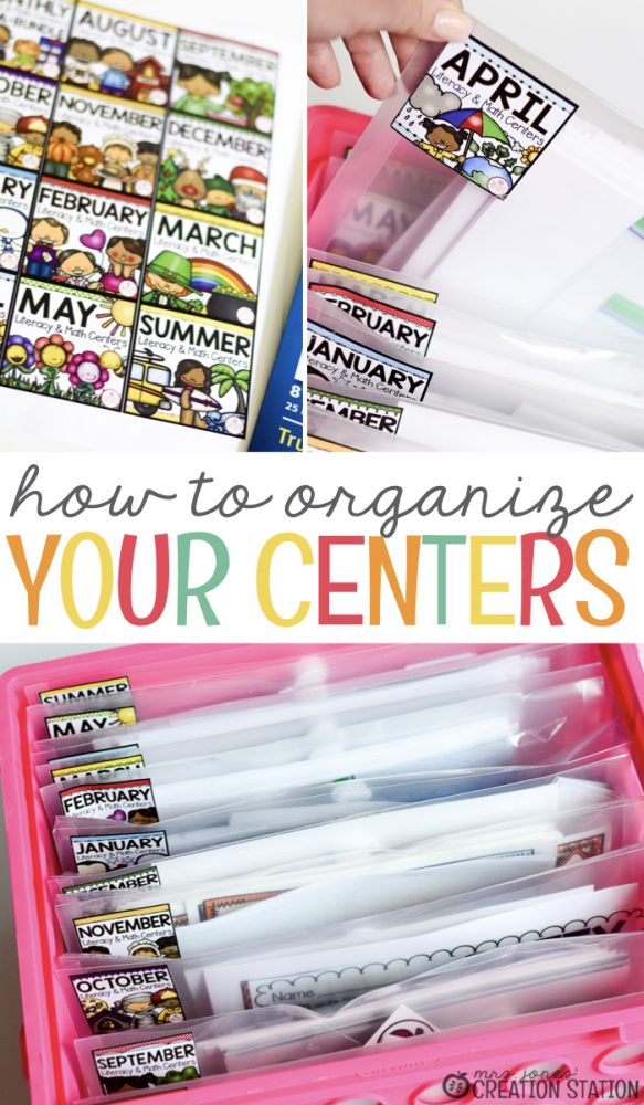 How to Organize Centers in Your Classroom - Mrs Jones\u0027 Creation Station