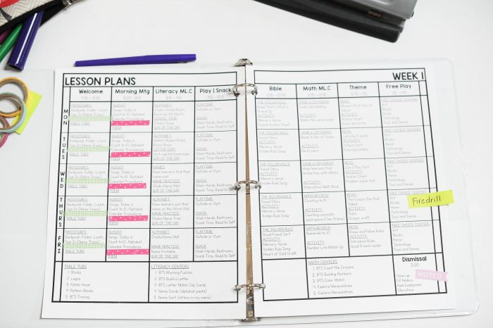 Free Lesson Plan Template - Mrs Jones\u0027 Creation Station
