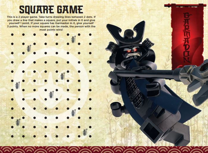17 Free LEGO Ninjago Movie Printable Activities  Online Games - Mrs