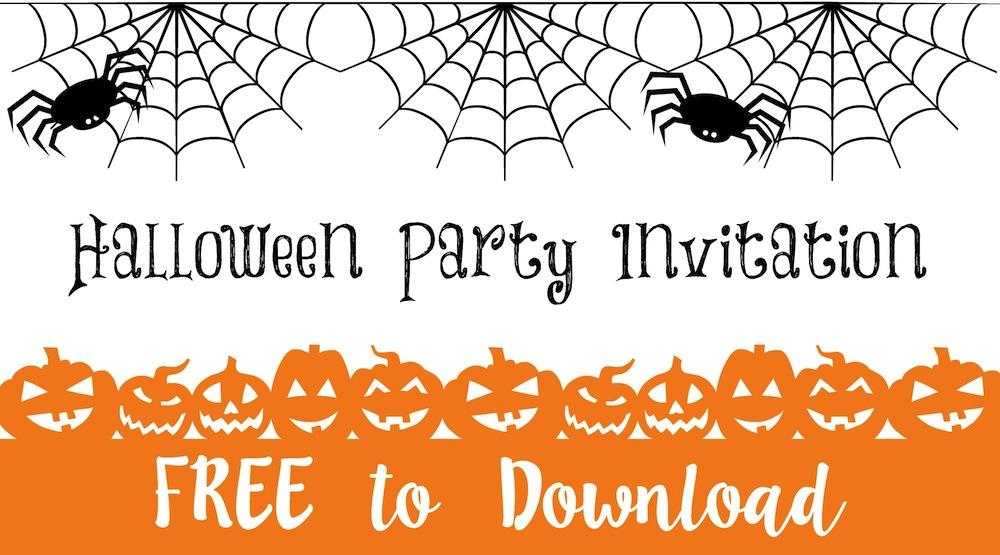 Halloween Party Invitation \u2026 FREE to Download \u2026