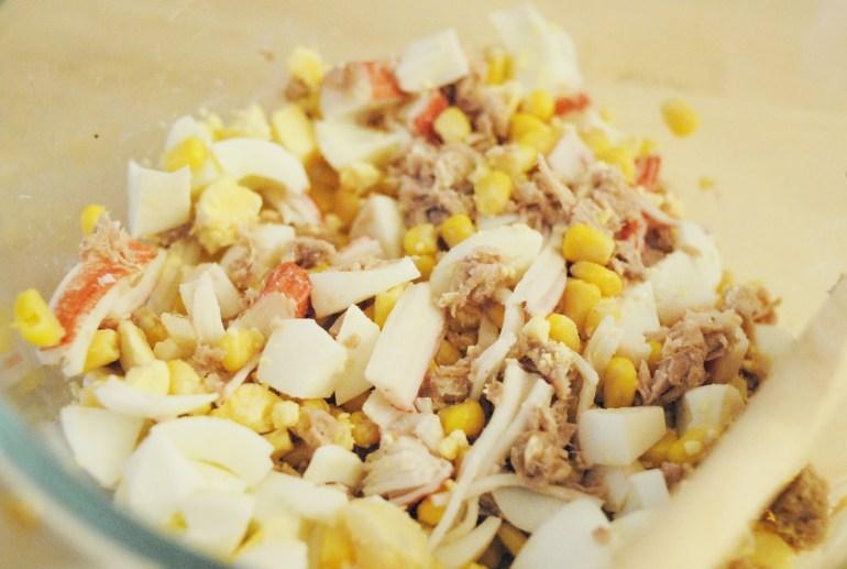 Tuna Salad Wraps 吞拿魚沙律卷