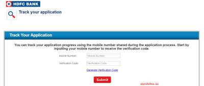 Hdfc Credit Card Application Status :: Track My Hdfc Bank Credit Status (Enquiry Number ...