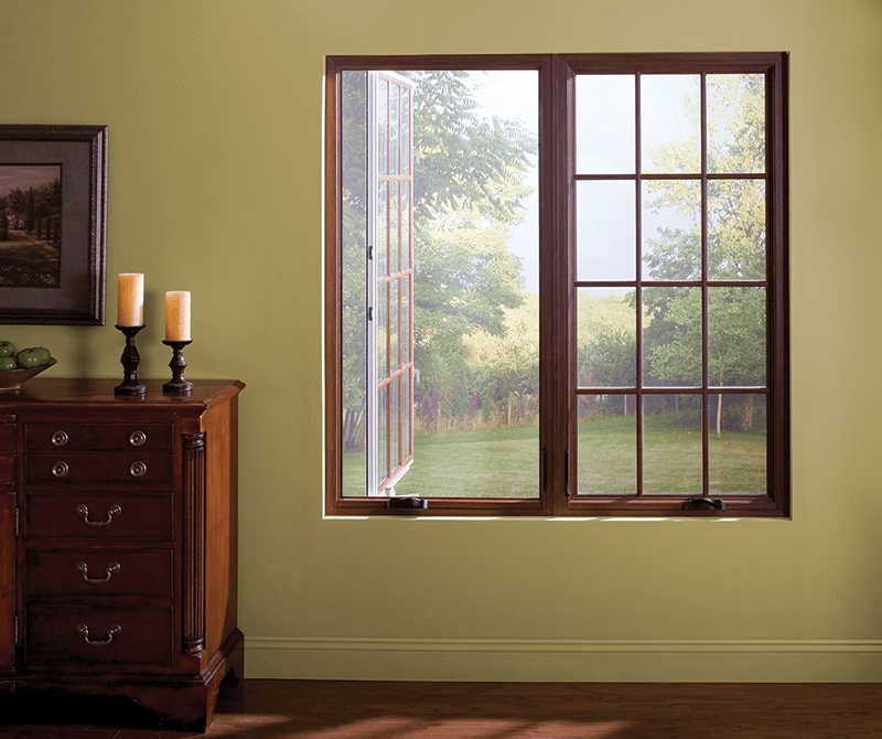 We Offer An Extensive Line Of Name Brand Vinyl And Wood Replacement Windows.