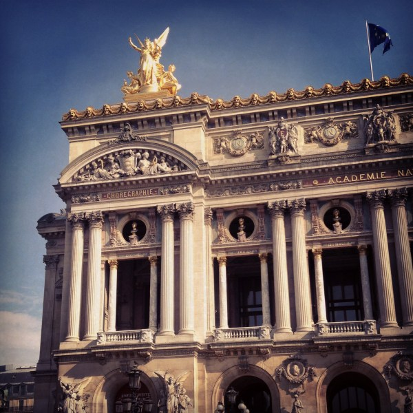Paris Opera House, on Ms. Adventures in Italy by Sara Rosso