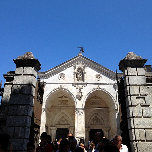 Santuario di San Michele Arcangelo in Monte Sant'Angelo, on Ms. Adventures in Italy by Sara Rosso