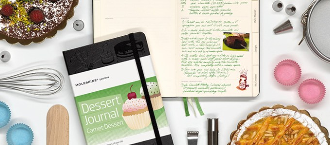Introducing the Moleskine Passions Dessert Journal & a Giveaway!