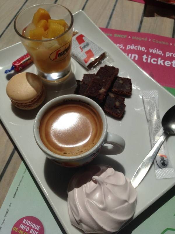 Cafe gourmand in France - Ms. Adventures in Italy, Sara Rosso