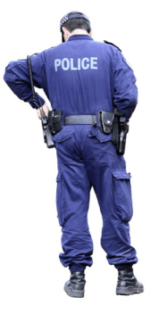 Police Officer Standing
