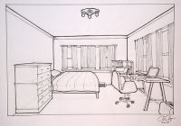Homework- One- Point Perspective Room Drawing - MS CHANG'S ...