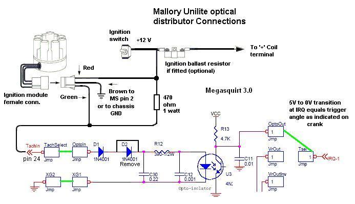 Mallory Unilite Wiring Diagram - Carbonvotemuditblog \u2022