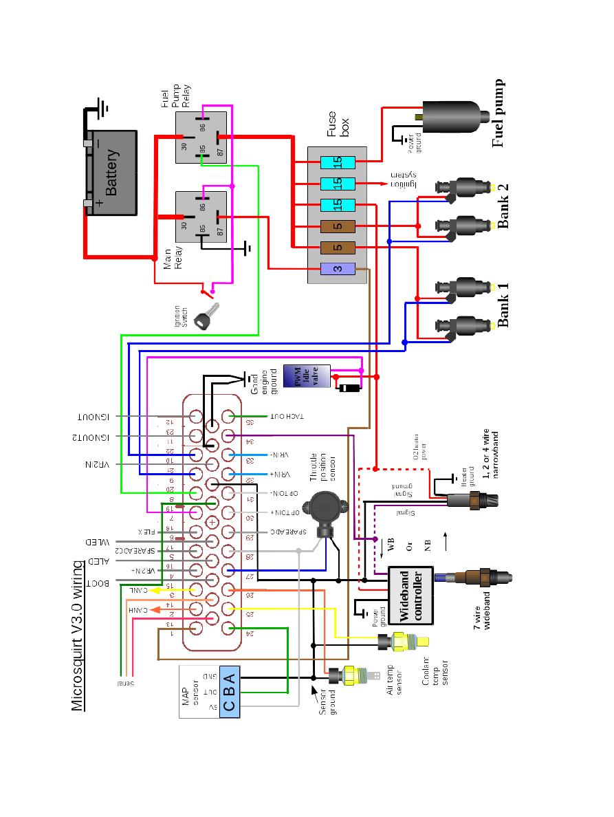 microsquirt wiring diagram