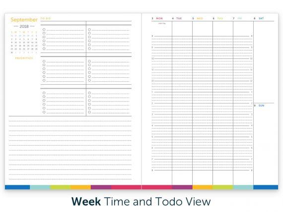 Time  ToDo Planner 2018-19 Digital Download Ms Houser