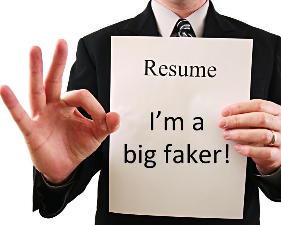 Fake Resume is Serious matter in USA - fake resumes