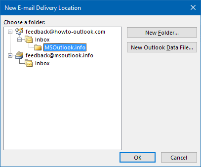 Addingrecreating A Mail Profile Howto Outlook Combine Inbox Folders Of Multiple Pop3 Accounts In Outlook